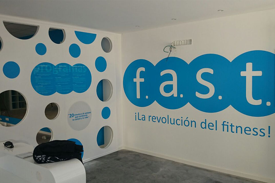 Acondicionamiento de local para Gimnasio FAST Fitness en Murcia