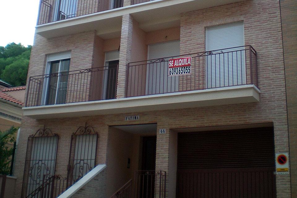 Construcción de edificios de viviendas-pisos en Murcia