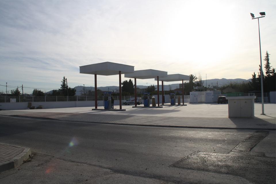 Construcción Gasonera de gas natural en Era Alta, Murcia