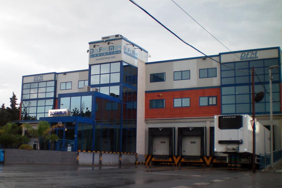 Construcción instalaciones, naves y oficinas Disfrimur, Murcia