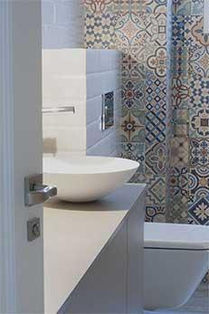 Reforma baño pie de ducha