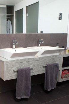 Reforma baño doble pila
