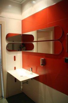 Reforma baño oficina