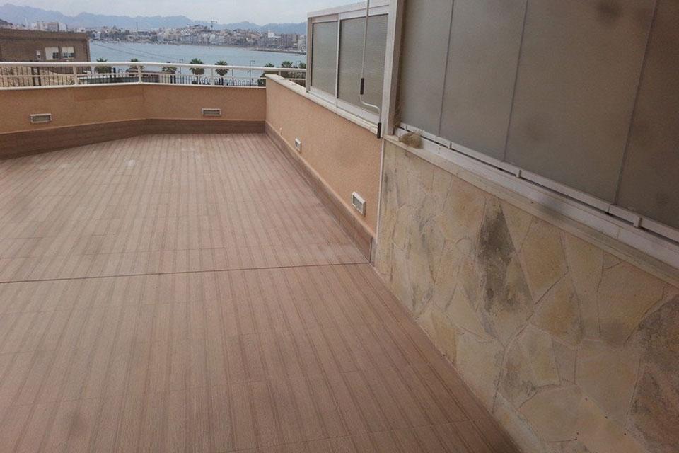 Reforma terraza solarium